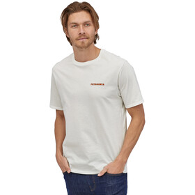 Patagonia Summit Road Organic T-Shirt Homme, white